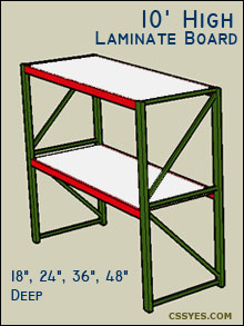 Fastrak-Starter-10-Feet-High-Laminate-Board