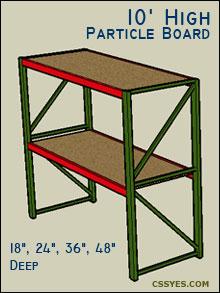 Fastrak-Starter-10-Feet-High-Particle-Board
