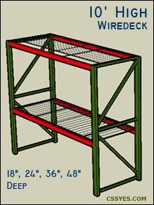 Fastrak-Starter-10-Feet-High-Wiredeck