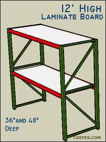 Fastrak-Starter-12-Feet-High-Laminate-Board