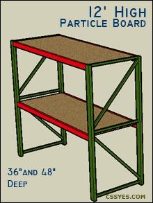 Fastrak-Starter-12-Feet-High-Particle-Board