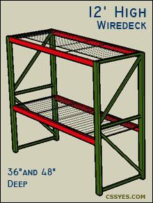 Fastrak-Starter-12-Feet-High-Wiredeck