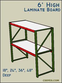 Fastrak-Starter-6-Feet-High-Laminate-Board