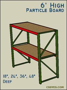 Fastrak-Starter-6-Feet-High-Particle-Board