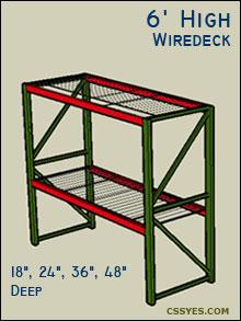 Fastrak-Starter-6-Feet-High-Wiredeck