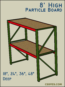 Fastrak-Starter-8-Feet-High-Particle-Board