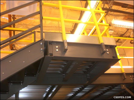 Mezzanine Stairs - Industrial Mezzanines and Structures | C&SS