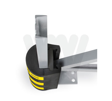 Pallet Rack Protection Rubber Protector