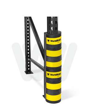 Pallet Rack Protection Stacked